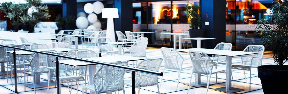 Restaurant Amici: Essen auf Gläsern - Der Pressedienst - Medienservice für Journalisten