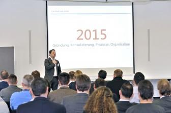 Vertriebskonferenz 2016 der Carl Stahl Hebetechnik