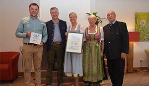 Fünf Wellness Sterne für das Forsthaus Auerhahn