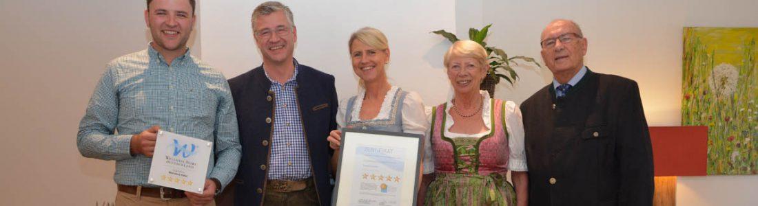 Fünf Wellness Sterne für das Forsthaus Auerhahn | Medienservice für Journalisten