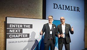 Unter den besten Lieferanten von Daimler