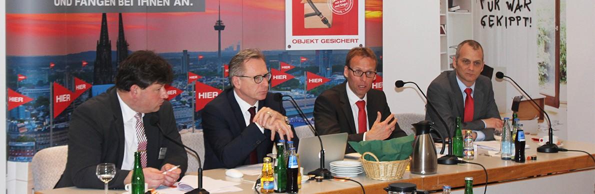 wir machen deutschland sicher der pressedienst medienservice f r journalisten. Black Bedroom Furniture Sets. Home Design Ideas