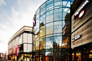 Das gläserne Shopping-Juwel