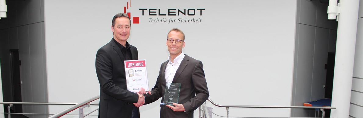 Telenot-Alarmanlage ist Produkt des Jahres - Der Pressedienst - Medienservice für Journalisten