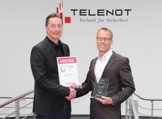 Telenot-Alarmanlage ist Produkt des Jahres