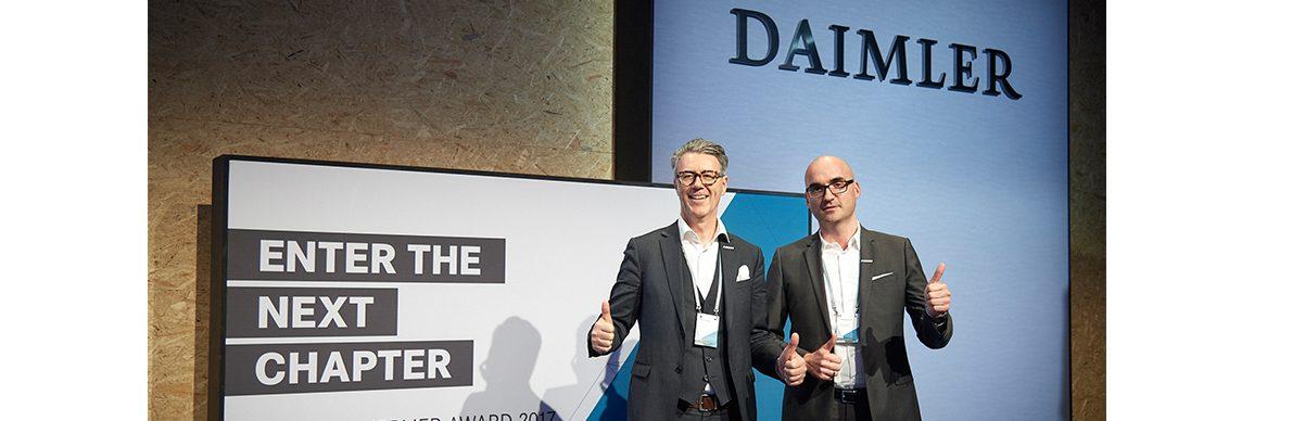 Unter den besten Lieferanten von Daimler - Der Pressedienst - Medienservice für Journalisten