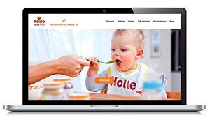 Die neue Holle-Nachhaltigkeits-Website