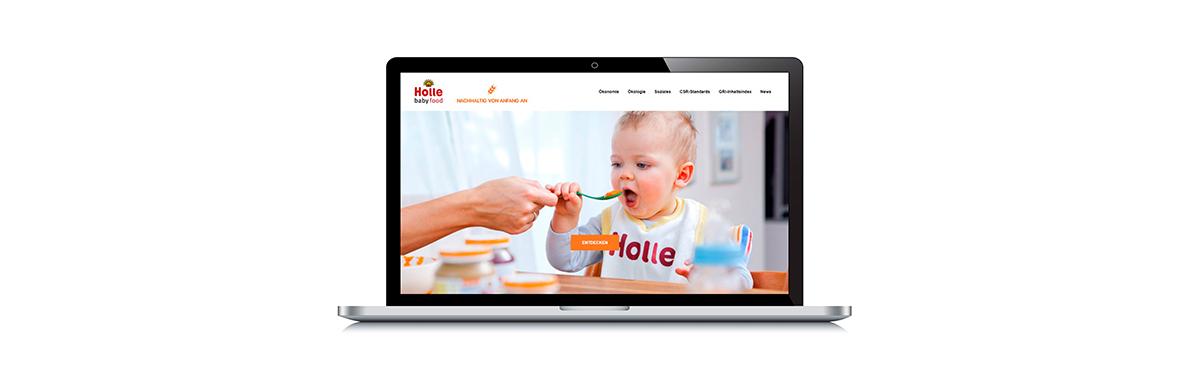 Die neue Holle-Nachhaltigkeits-Website - Der Pressedienst - Medienservice für Journalisten