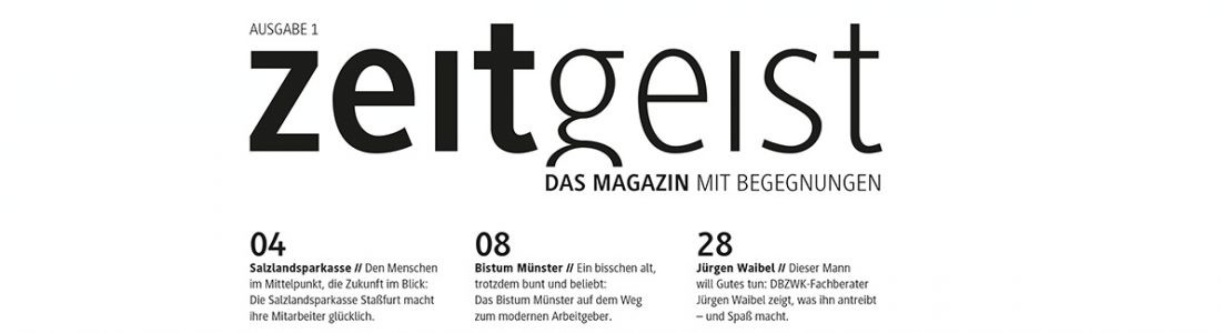 Das neue Magazin für Lebensarbeitszeitmodelle | Medienservice für Journalisten