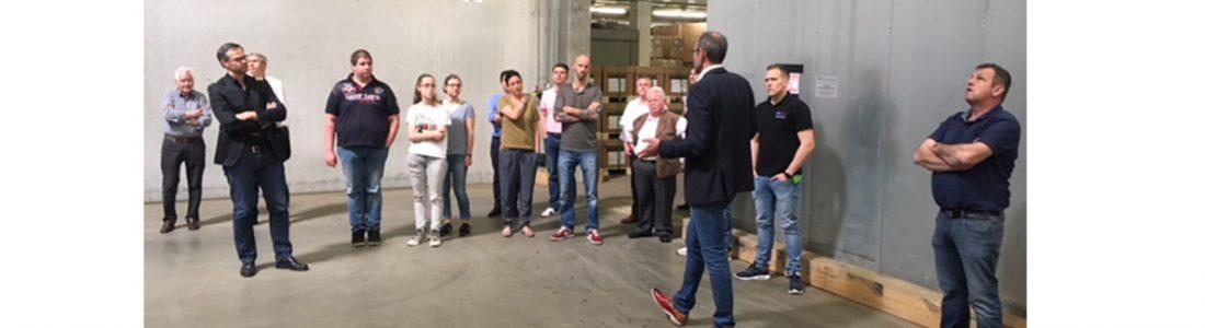 Logistikkompetenz hautnah erlebt   Medienservice für Journalisten