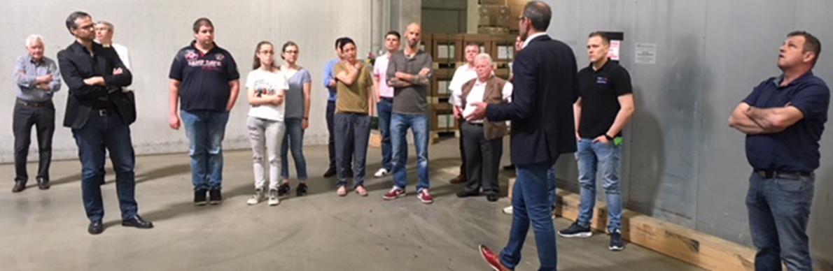 Logistikkompetenz hautnah erlebt - Der Pressedienst - Medienservice für Journalisten