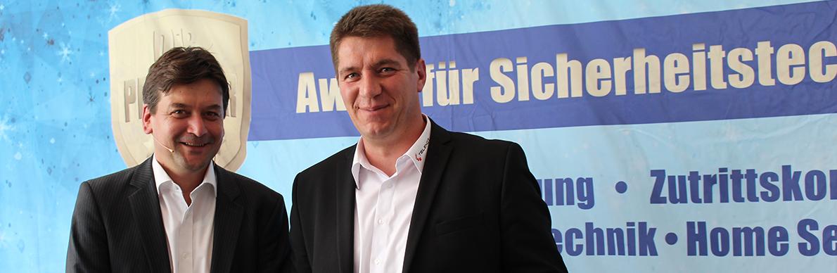 Protector-Award für Telenot Funk-Bedienteil - Der Pressedienst - Medienservice für Journalisten