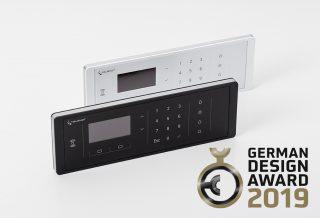 Funkbedienteil von Telenot mehrfach ausgezeichnet