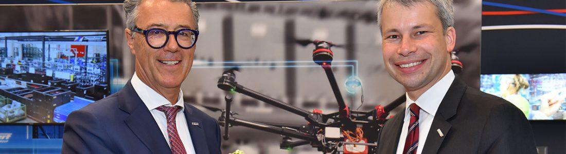 Steffen Bilger informiert sich über Digitalisierung | Medienservice für Journalisten