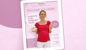 E-Book für Schwangere: Was darf ich essen?