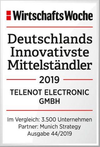 Wirtschaftswoche bestätigt Innovationskraft von Telenot