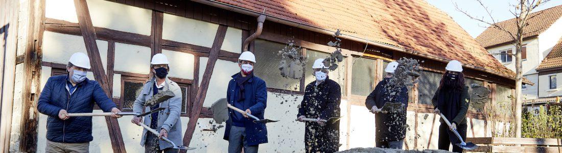 Baustart für die Arnold-Akademie in Miedelsbach | Medienservice für Journalisten
