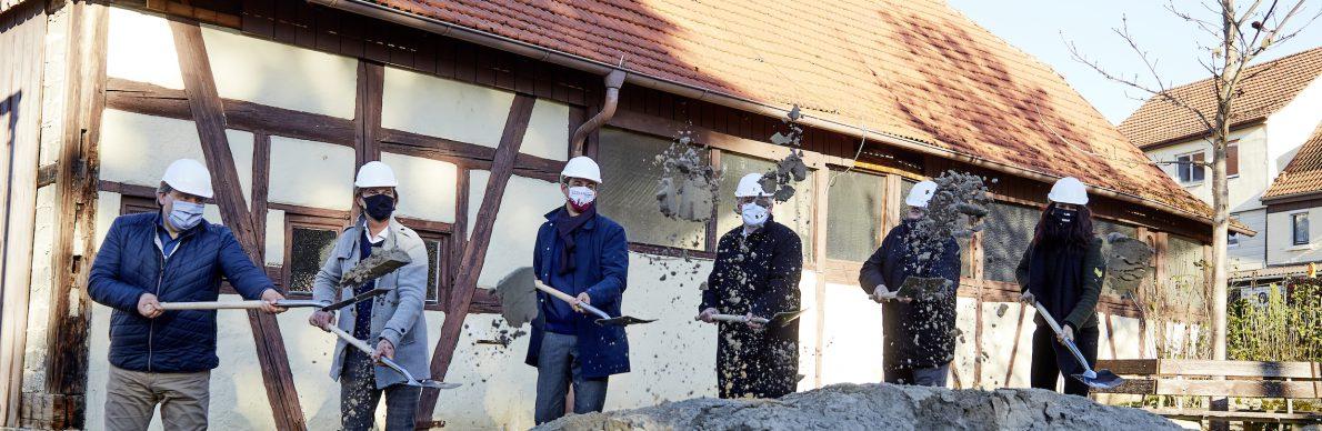 Baustart für die Arnold-Akademie in Miedelsbach - Der Pressedienst - Medienservice für Journalisten