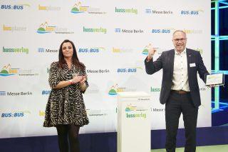 Premium-Doppeldecker Volvo 9700 DD erhält Internationalen busplaner Nachhaltigkeitspreis 2021