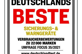 """""""Deutschlands Beste Sicherungs- und Warngeräte"""""""